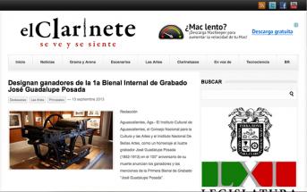 Designan ganadores de la 1a Bienal Internal de Grabado José Guadalupe Posada – elclarinete.com.mx