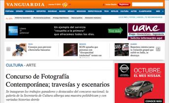 Concurso de Fotografía Contemporánea; travesías y escenarios – vanguardia.com.mx