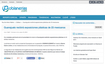 Guanajuato recibirá exposiciones plásticas de 23 mexicanos – poblanerias.com