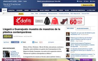 Llegará a Guanajuato muestra de maestros de la plástica contemporánea – ar.noticias.yahoo.com