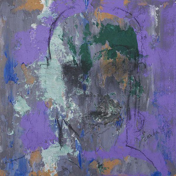 Sobras y Dudas 1 (2014), Mixta sobre tela, 50 x 50 cms.