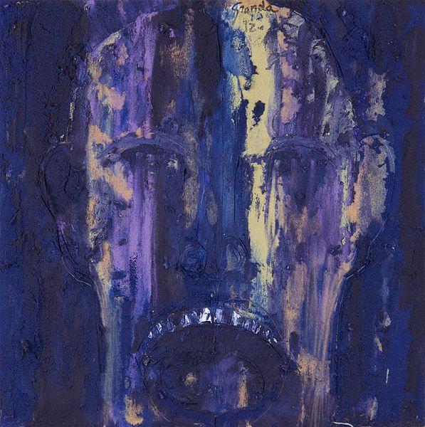 Sobras y Dudas 3 (2014), Mixta sobre tela, 50 x 50 cms.
