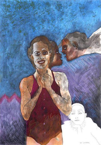 1990-alonso-chimal-el-fantasma-tinta-y-crayon-sobre-papel-50-x-35-cm