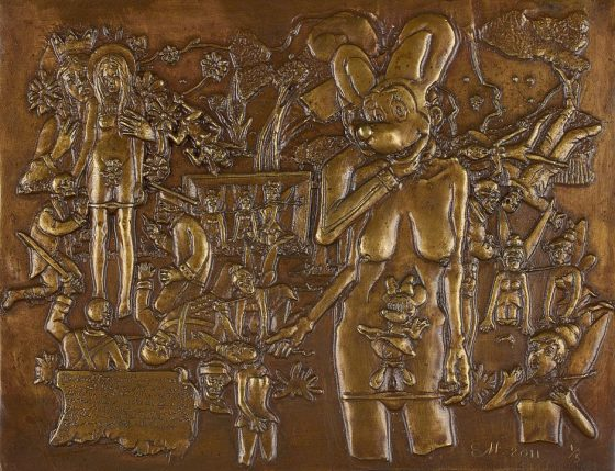 2011-eh-lara-campanita-y-la-muerte-bronce-18-5x24-5cms