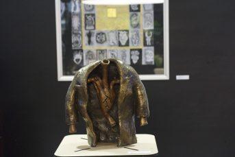 #Fotos: Inauguración Crónicas de identidades, Identidades crónicas. Dibujo y escultura de Eduardo Beristáin en el Senado de la República.