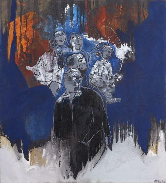 2016 - Lifer, Kashmir (Led Zeppelin), Acrílico sobre tela, 110 x 100 cm