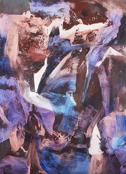 2012 - Luciano Spanó, Al Cuerpo, Acrílico sobre tela, 180 x 130 cm