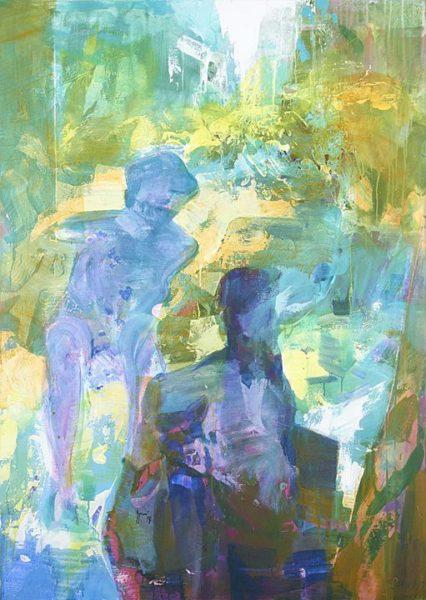 2013 - Luciano Spanó, Buenos Aires, Acrílico sobre tela, 180 x 130 cm